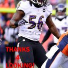 JOSH BYNES 2012 BALTIMORE RAVENS FOOTBALL CARD