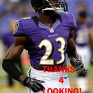 CHYKIE BROWN 2012 BALTIMORE RAVENS FOOTBALL CARD