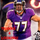 MATT BIRK 2012 BALTIMORE RAVENS FOOTBALL CARD
