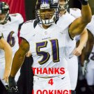 BRENDON AYANBADEJO 2012 BALTIMORE RAVENS FOOTBALL CARD