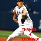MASAHIRO TANAKA 2013 TEAM JAPAN WORLD BASEBALL CLASSIC CARD