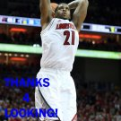 CHANE BEHANAN 2012-13 LOUISVILLE CARDINALS BASKETBALL CARD