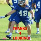 KYLE BOSWORTH 2013 NEW YORK GIANTS FOOTBALL CARD