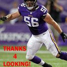 MICHAEL MAUTI 2013 MINNESOTA VIKINGS FOOTBALL CARD