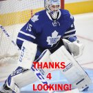 JONATHAN BERNIER 2013-14 TORONTO MAPLE LEAFS HOCKEY CARD