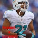 BRENT GRIMES 2013 MIAMI DOLPHINS FOOTBALL CARD