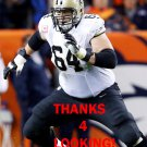 ZACH STRIEF 2013 NEW ORLEANS SAINTS FOOTBALL CARD