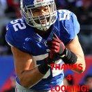 SPENCER PAYSINGER 2013 NEW YORK GIANTS FOOTBALL CARD