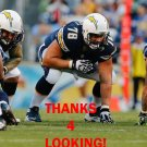 CHAD RINEHART 2013 SAN DIEGO CHARGERS FOOTBALL CARD