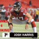 JOSH HARRIS 2013 ATLANTA FALCONS FOOTBALL CARD