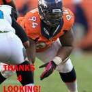 TERRANCE KNIGHTON 2013 DENVER BRONCOS FOOTBALL CARD