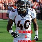 AARON HESTER 2013 DENVER BRONCOS FOOTBALL CARD