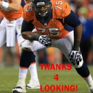 CHRIS CLARK 2013 DENVER BRONCOS FOOTBALL CARD