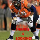 ZANE BEADLES 2013 DENVER BRONCOS FOOTBALL CARD