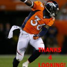 KAYVON WEBSTER 2013 DENVER BRONCOS FOOTBALL CARD
