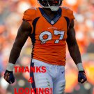 MALIK JACKSON 2013 DENVER BRONCOS FOOTBALL CARD