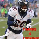 MIKE ADAMS 2013 DENVER BRONCOS FOOTBALL CARD