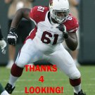 JONATHAN COOPER 2013 ARIZONA CARDINALS FOOTBALL CARD