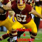 JOSH LeRIBEUS 2013 WASHINGTON REDSKINS FOOTBALL CARD
