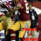 NICK BARNETT 2013 WASHINGTON REDSKINS FOOTBALL CARD
