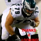 TODD HERREMANS 2013 PHILADELPHIA EAGLES FOOTBALL CARD