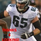 LANE JOHNSON 2013 PHILADELPHIA EAGLES FOOTBALL CARD