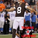 BRANDON BOGOTAY 2013 CLEVELAND BROWNS FOOTBALL CARD