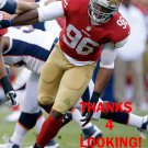 COREY LEMONIER 2013 SAN FRANCISCO 49ERS FOOTBALL CARD