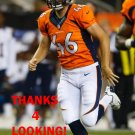 AARON BREWER 2013 DENVER BRONCOS FOOTBALL CARD