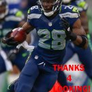 WALTER THURMOND 2013 SEATTLE SEAHAWKS FOOTBALL CARD