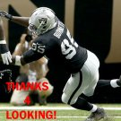 KAELIN BURNETT 2013 OAKLAND RAIDERS FOOTBALL CARD