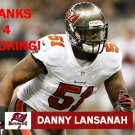 DANNY LANSANAH 2013 TAMPA BAY BUCCANEERS FOOTBALL CARD