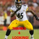 ALAN BAXTER 2013 PITTSBURGH STEELERS FOOTBALL CARD