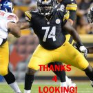 CHRIS HUBBARD 2013 PITTSBURGH STEELERS FOOTBALL CARD