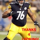 MIKE ADAMS 2013 PITTSBURGH STEELERS FOOTBALL CARD