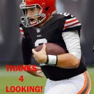 JOHNNY MANZIEL 2014 CLEVELAND BROWNS FOOTBALL CARD
