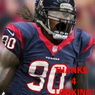 JADEVEON CLOWNEY 2014 HOUSTON TEXANS FOOTBALL CARD