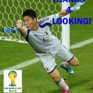 EIJI KAWASHIMA JAPAN 2014 FIFA WORLD CUP CARD