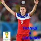 ARON JOHANNSSON USA 2014 FIFA WORLD CUP CARD