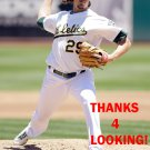 JEFF SAMARDZIJA 2014 OAKLAND ATHLETICS BASEBALL CARD