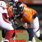 JOHN YOUBOTY 2013 DENVER BRONCOS FOOTBALL CARD