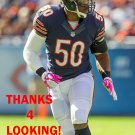 JAMES ANDERSON 2013 CHICAGO BEARS FOOTBALL CARD