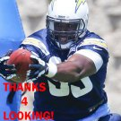 KWAME GEATHERS 2013 SAN DIEGO CHARGERS FOOTBALL CARD