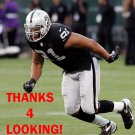 JACK CRAWFORD 2012 OAKLAND RAIDERS FOOTBALL CARD