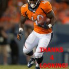 JUWAN THOMPSON 2014 DENVER BRONCOS FOOTBALL CARD