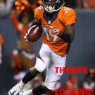ISAIAH BURSE 2014 DENVER BRONCOS FOOTBALL CARD