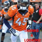 JEROME MURPHY 2014 DENVER BRONCOS FOOTBALL CARD