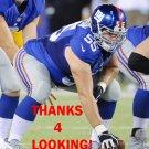 J.D. WALTON 2014 NEW YORK GIANTS FOOTBALL CARD