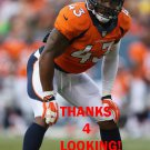 T.J. WARD 2014 DENVER BRONCOS FOOTBALL CARD
