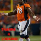 TERRANCE KNIGHTON 2014 DENVER BRONCOS FOOTBALL CARD